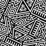 Aztec Vector Seamless Pattern Stock Photography
