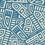 Aztec Vector Seamless Pattern Royalty Free Stock Photos