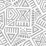 Aztec Vector Seamless Pattern Stock Images