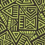 Aztec Vector Seamless Pattern Stock Image