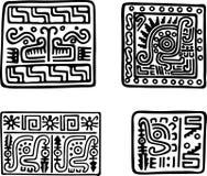Aztecas Ilustración del Vector