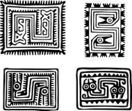 Aztecas Stock de ilustración