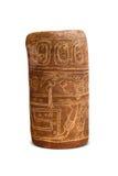 Azteco e Maya Sculptures nel museo di Clocolate Immagini Stock Libere da Diritti