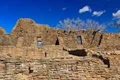Azteco  Rovine Fotografie Stock Libere da Diritti