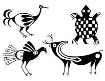 Aztecs stock illustrationer