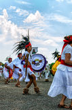 Aztecs Dancing Stock Images