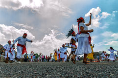Aztecs Dancing Royalty Free Stock Photography