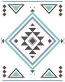 Azteeks patroon abrstrac Stock Afbeeldingen