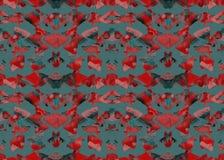 AZTEEKS patroon Stammen Ontwerp Royalty-vrije Stock Afbeelding