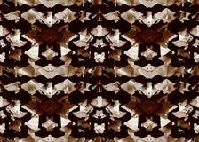 AZTEEKS patroon Stammen Ontwerp Royalty-vrije Stock Afbeeldingen