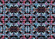AZTEEKS patroon Stammen Ontwerp Stock Afbeelding
