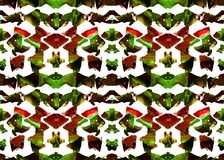 AZTEEKS patroon Stammen Ontwerp Royalty-vrije Stock Foto