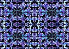 AZTEEKS patroon Stammen Ontwerp Stock Afbeeldingen