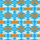 Azteeks textiel de inspiratiepatroon van Navajo Inheemse Indiaan Royalty-vrije Stock Afbeeldingen