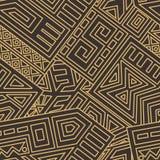 Azteeks Vector Naadloos Patroon royalty-vrije illustratie