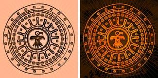 Azteekse achtergrond Stock Fotografie