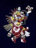 Azteekse god Royalty-vrije Stock Afbeeldingen