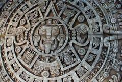 Azteekse kalender Stock Foto