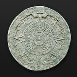 Azteekse kalender Latijns Amerika Stock Foto's