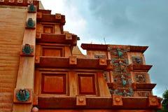 Azteekse Tempel Royalty-vrije Stock Afbeeldingen
