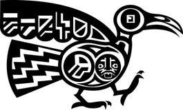 Azteekse Vogel royalty-vrije illustratie