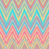 Azteekse zigzag Stock Afbeelding