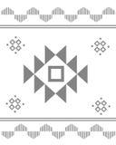 Azteka deseniowy abrstrac Obrazy Royalty Free