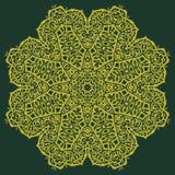 Azteka kwiat Obrazy Stock