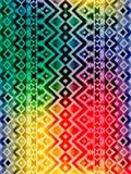 Azteka plemienny meksykański bezszwowy wzór ilustracja wektor