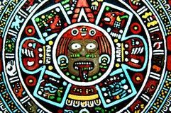 Aztekische Kunst-Wiedergabe Lizenzfreie Stockbilder