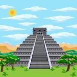 Aztekische Pyramide