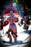 Aztekische Tänzer lizenzfreie stockbilder