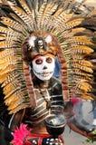 Aztekischer Medizinmann in Mexiko Stockbild