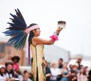 Aztekischer Tänzer Stockfotografie