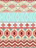 Aztekisches geometrisches nahtloses Muster Lizenzfreie Stockfotos