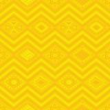 Aztekisches nahtloses Muster Stockfoto