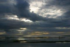 Azucare la playa Imagen de archivo libre de regalías