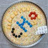 Azucare y diagnostique de la diabetes fotografía de archivo