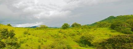 Azuero halvö i Panama Arkivfoto