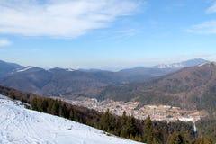 Azuga Roumanie Photographie stock libre de droits