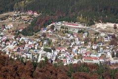 Azuga town Stock Photography