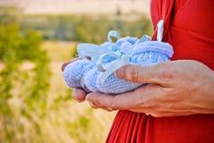 Azuis bebê Imagens de Stock Royalty Free
