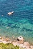 Azuis celestes da costa d, França imagens de stock royalty free