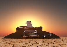 Azuis do deserto Foto de Stock