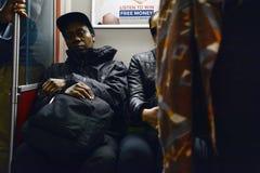 Azuis do metro Imagem de Stock