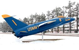 Azuis marinhos Angel Jet fotos de stock royalty free