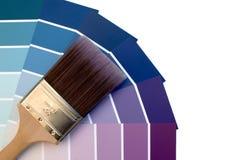 Azuis roxos Imagens de Stock