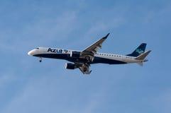 Azul航空公司航空器 图库摄影