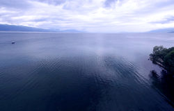 Azul 1 de Ohrid Fotografia de Stock Royalty Free