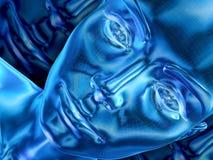 Azul stock de ilustración